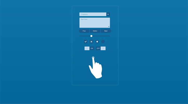 2016年流行的手绘手机APP界面-艺源视网