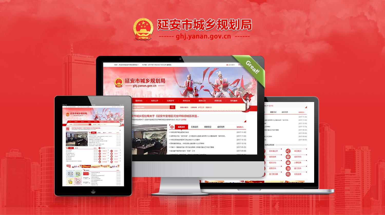 延安市城乡规划局网站建设-艺源视网