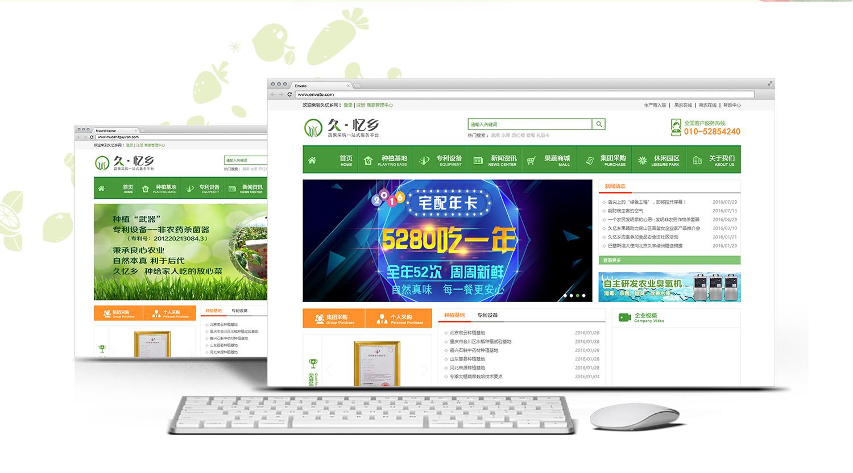 久亿乡_商城网站建设公司【艺源科技】