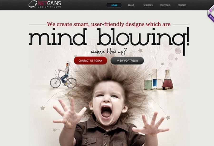 别出心裁的创意设计,赋予网页或App个性