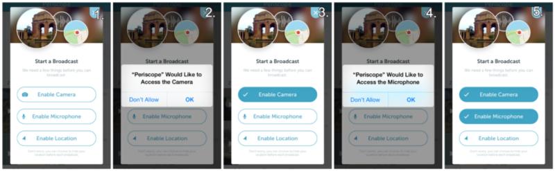 交互的细节!向用户征询iOS授权的五种常见设计模式-艺源科技