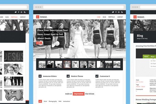 上手即用!25个值得收藏的网站模板免费下载-艺源科技