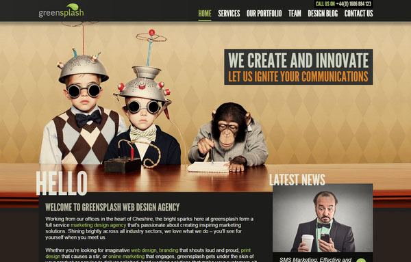 """萨瓦迪卡!一组令人感到亲切的""""Hello""""主题网站设计-艺源科技"""